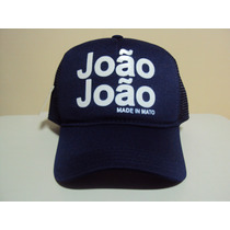 Boné Joao Joao Diversas Cores Trucker Frete Grátis