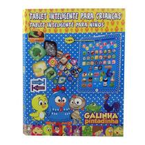 Tablet Infantil Galinha Pintadinha 8 Polegadas Educativo