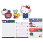 Kit Papel De Carta Hello Kitty Maçã+ 2 Envelopes + 2 Die Cut