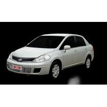 Kit Sobre Grade Cromo Aço Inox Filetada - Nissan Tiida