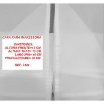 Capa Para Impressora 3434, Branca Semitransparente.
