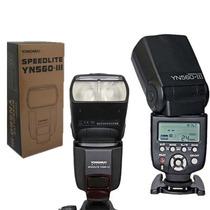 Flash Yongnuo 560 Iii - Com Rádioflash Embutido