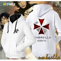 Blusa Moleton Umbrella Corporation Frete Grátis