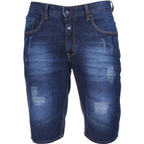 Bermuda Jeans Masculina Hollister | Quiksilver | Oakley