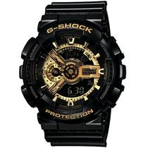 Relogio G Shock Original Black Gold Luxo Ga-110-gb-1adru