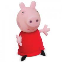 Boneca Peppa Pig Cabeça De Vinil - 40 Cm - Estrela