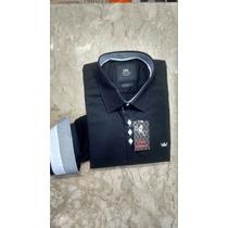 Camisas Mangas Longa Sociais Tamanho N. 6 Dml Modas Barata