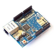 Arduino Ethernet Shield W5100 Com Slot Sd Card