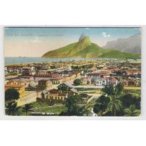 Postal Circulado 1927 Ipanema E Leblon Rio De Janeiro
