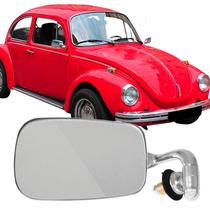 Espelho Retrovisor Fusca Cromado Modelo Original Em Inox