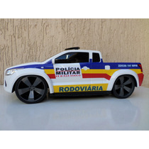 Miniatura Viatura Policia Militar Mg- Rodoviária