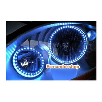 Devil Monster Angel Eye Piscas Milha Farol Led Smd Xenon