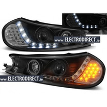 Tuning Import Par D Farol Projector Drl R8 Ford Mondeo 97/00
