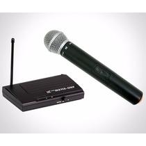 Microfone Sem Fio Tsi Ms 115 Uhf