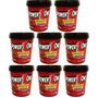 Combo 8 Pasta De Amendoim Brigadeiro Proteico - Power One
