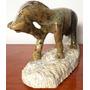 Escultura Detalhada De Cavalo - Pedra Sabão - Artigo De Luxo
