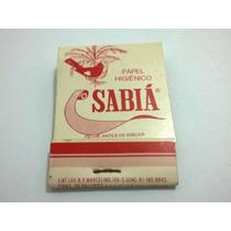 Caixa De Fósforo Sabiá Papel Higiênico - Lt0138