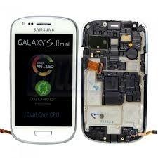Tela Display Lcd Touch Samsung S3 Mini Gt I8190 Branco