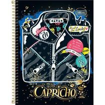 Caderno 12 Matérias 240 Folhas Capricho Look Tilibra