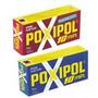 Poxipol Adesivo Epoxi Cor: Cinza Ou Transparete 20g/14ml
