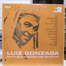 Lp Luiz Gonzaga Canta Sucessos Com Zé Dantas 1970 Exx Estado