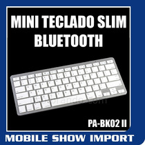 Mini Teclado Slim Bluetooth Windows Mobile 8 Seven 7 Xp Vist