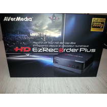 Gravador Video Ezrecorder Avermedia 1080p C/nota Fiscal
