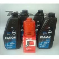 4 Óleo Elaion 5w40+filtro De Òleo Fram - Fox/pólo/gol/voyage