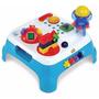 Mesa Centro Atividades Maxi Azul P/bebê Luz E Som Magic Toys