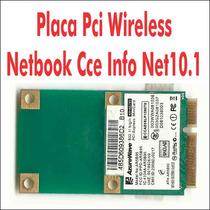 Placa Pci Wireless Netbook Cce Info Net10.1 Rosa