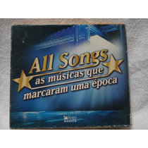 Cd- Box All Songs - As Musicas Que Marcaram - Box C/ 5 Cds