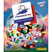 Album World Cup, Copa Do Mundo France 98 Panini Completo