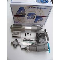 Motor Glow Asp-52 0.52ci - Agulha Trazeira - P/aeromodelos