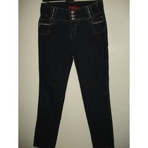 Calça Jeans Da Koop C/ Strass Nos Bolsos Tam 42