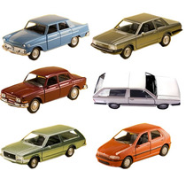 Kit 6 Miniaturas Clássicos Nacionais Brasileiro Jornal Extra