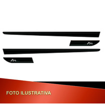 Friso Lateral Original Ford Ka Personalizado Preto 12/ Mp Nf