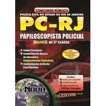 Apostila Papiloscopista Policial Policia Civil Rj