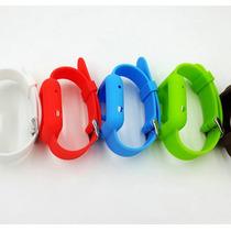Pulseira Anti Shock Apple Watch Em Silicone 42mm Preta Linda