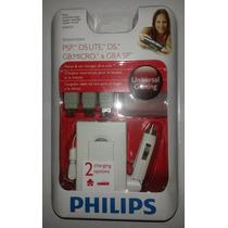 Psp: Carregador Original Philips Multi-aparelhos!! Lacrado!!