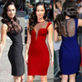 Vestido Celebridade Megan Fox  Importado Pronta Entrega