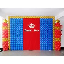 Tela De Balão, Bolas, Bexiga Para Decoração De Festa 3 Kit