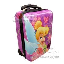 Mala Viagem Rigida Infantil - Sininho - Tinker Bell Disney
