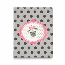 Capa Para Tablet Pink Pug Ludi