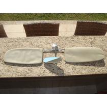 Fusca Antigo - Retrovisor Interno E Quebra Sol - Original Vw