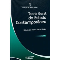 Teoria Geral Do Estado Contemporaneo - Livro