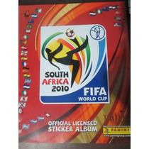 Album Copa Do Mundo South Africa 2010 Panini Impreso