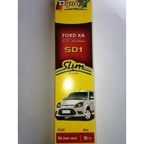 Palheta Silicone Dyna Sd1 Ford Ka 10/.. Encaixe Dtl Novidade