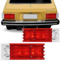 Lanterna Traseira Brasilia Variant Ii 78 79 80 81 82 Bicolor