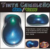 Tinta Camaleão Verde Azul - Chameleon Paint Color