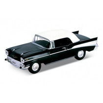 Miniatura Chevrolet Bel Air 1957 Welly Escala 1:38 Na Caixa